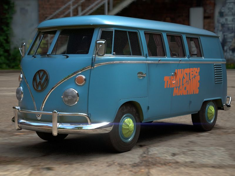 Mystery machine kombi