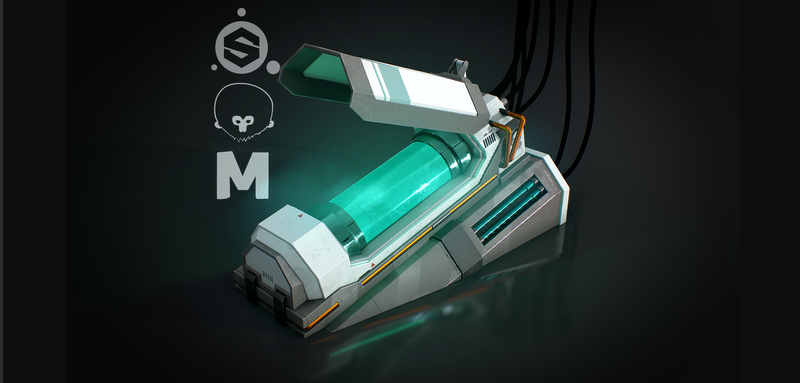 Cryochamber [Sci-Fi PBR Prop]