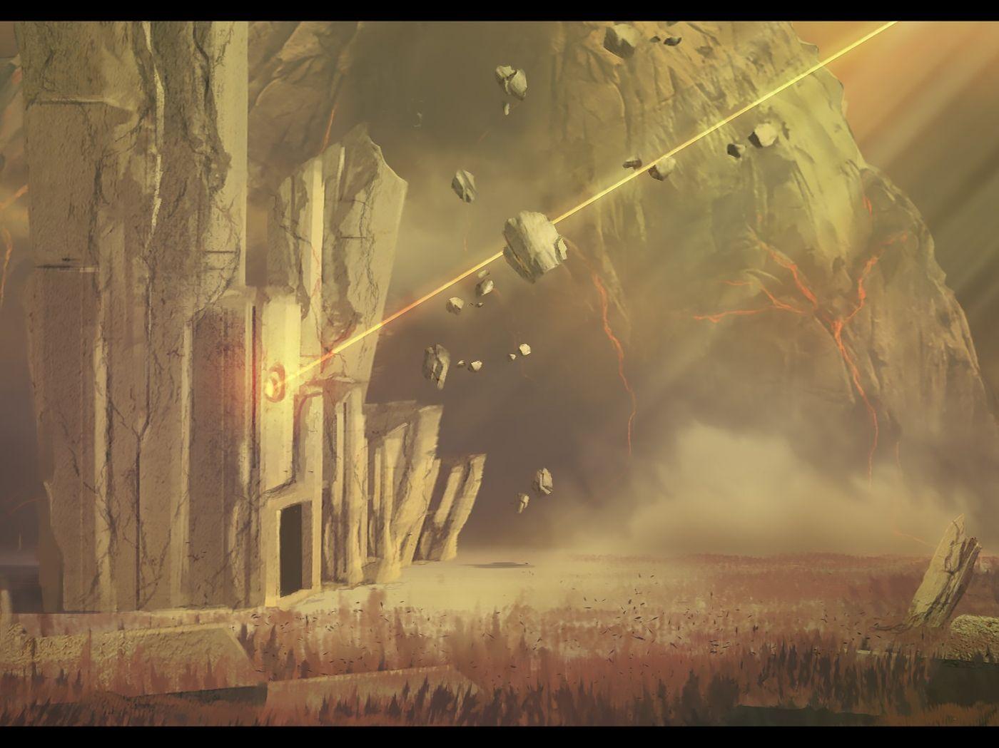 The Awakened Tomb - Environment Concept