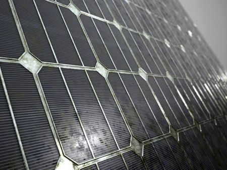 Grungy Solar Cell Material | Substance Designer