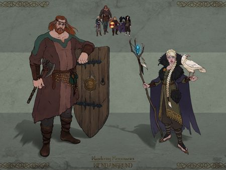 Wandering Mercenaries from Wendangrund