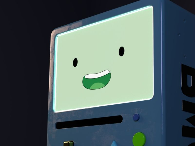 """BMO"" Adventure Time Personal Project"