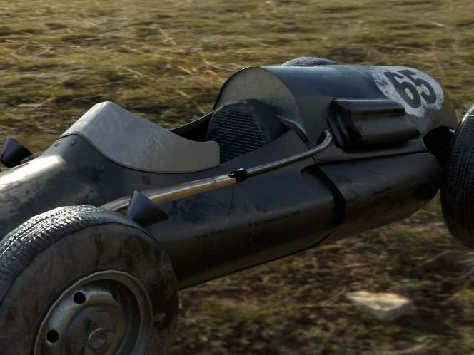 Cooper F1 Car