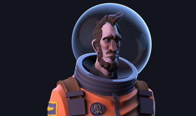 Astronaut 3018