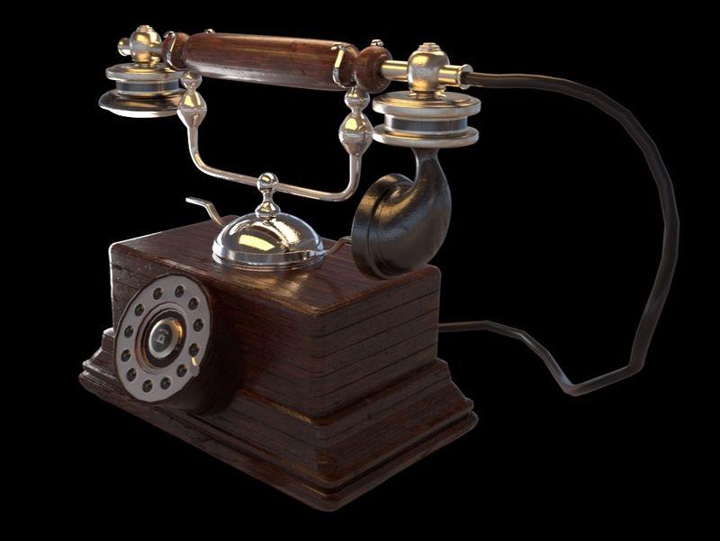 Rotary Phone Asset