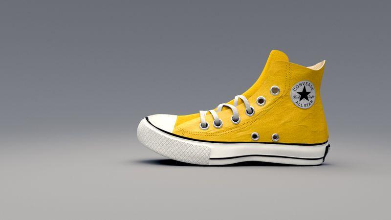 Converse Shoe Asset