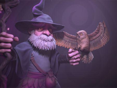 King Arture - Artstation Challenge : Merlin 2.0