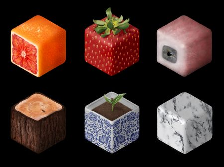 Weekly Drills 068 - Texture Cubes