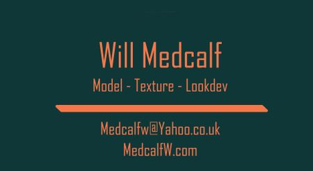Model, Texture, Lookdev - Student Work