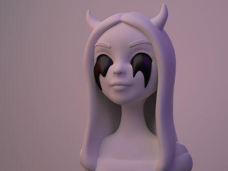 Demonic Girl - character