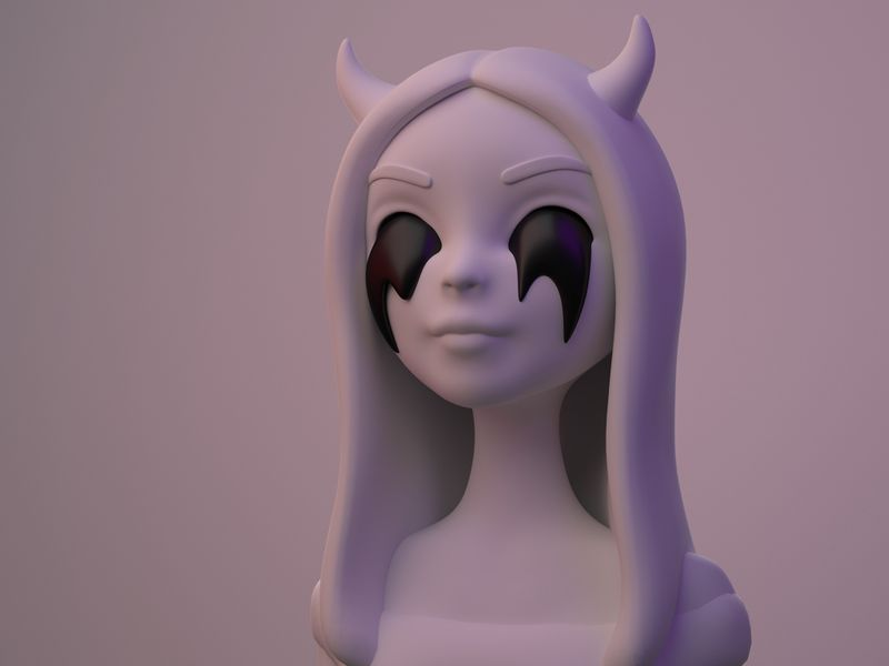Demonic Girl - character