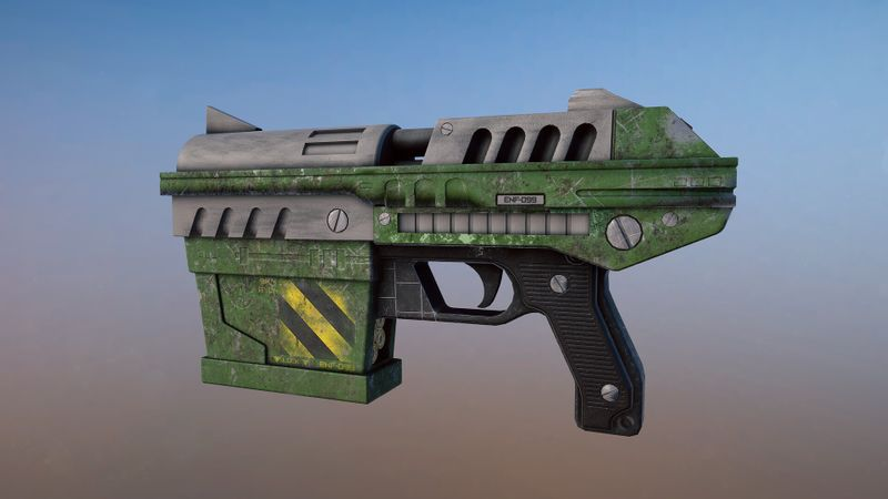 Unreal Tournament 99 Enforcer Remake