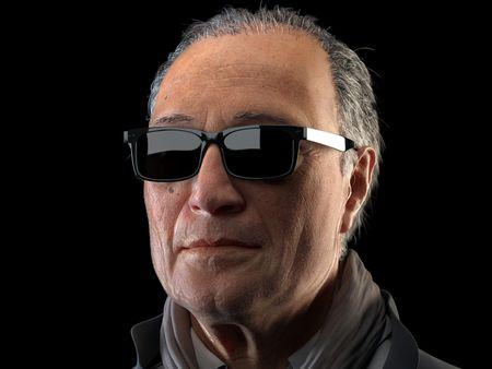 The great director, Abbas Kiarostami