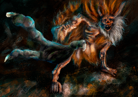 Demon of hatred