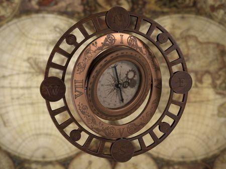 Steampunk Compass - weekly drills