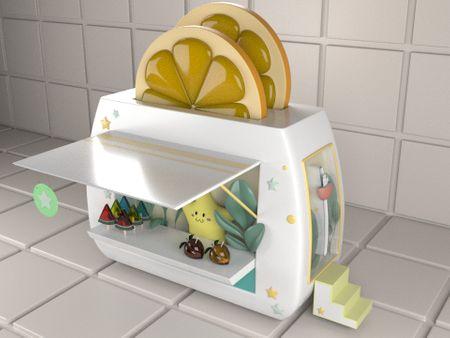 Cute Toaster