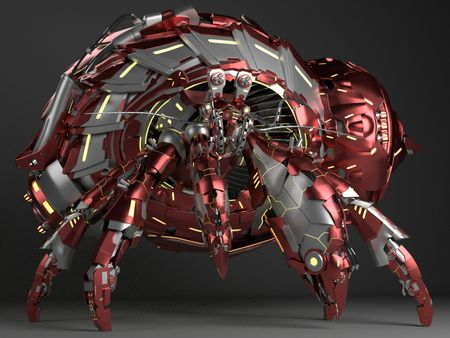 Mecha Hermit Crab