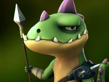 Tsed #12 Lizard guard