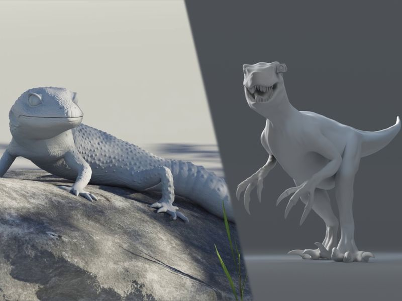 Gecko & Raptor Rig - Meryem Tok