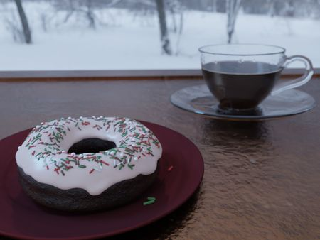 The donut that started it all