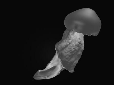 Jellyfish sculpt