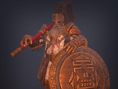 Commander of the Legion of the Dead - Fan Art