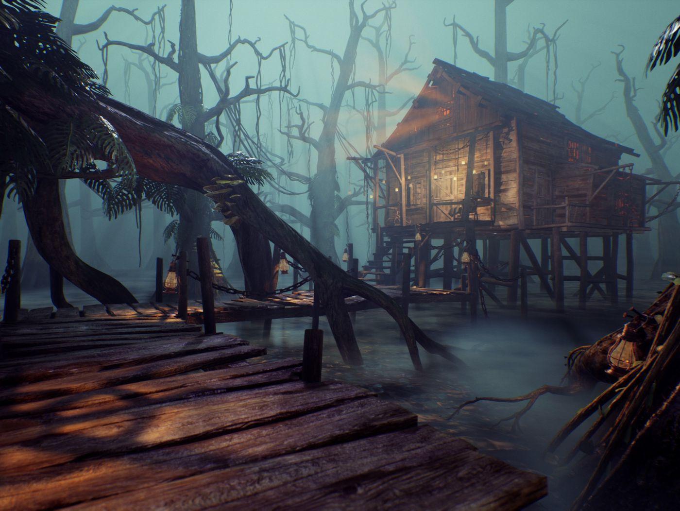 The Forbidden Swamp
