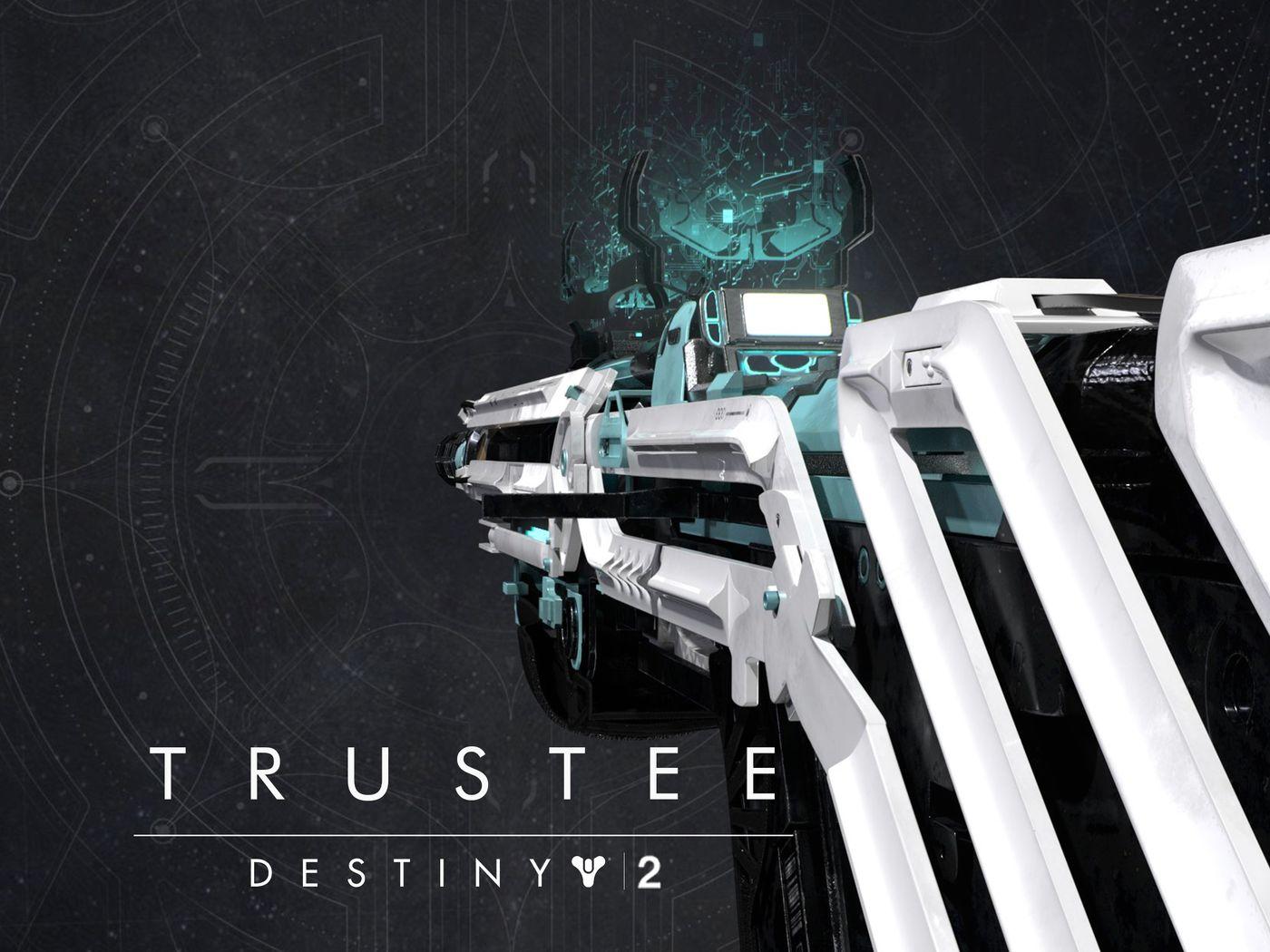 Destiny 2   Trustee Scout Rifle