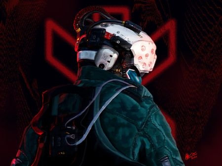 Cyberpunk 2077 Trauma Team Fanart