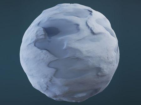 Realtime Melting Snow (UE4)
