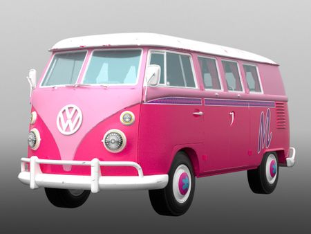 Pink Kombi!