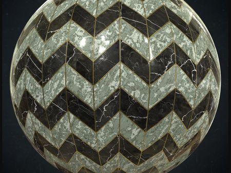 Art Deco Marble Material