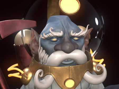 Dwarf Miner - Grand Space Opera - Light Age