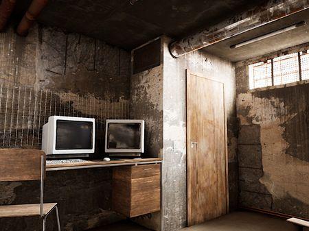 basement / hacker room