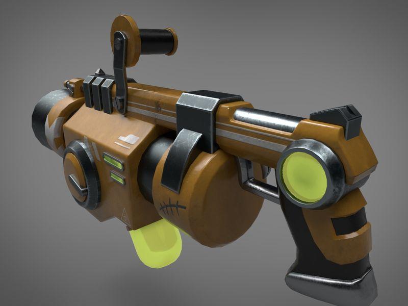 Stylized Fantasy Weapon