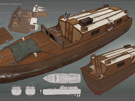 The Surgeon's Photograph - Dukes Boat