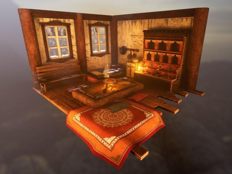 Tibetan Household Diorama