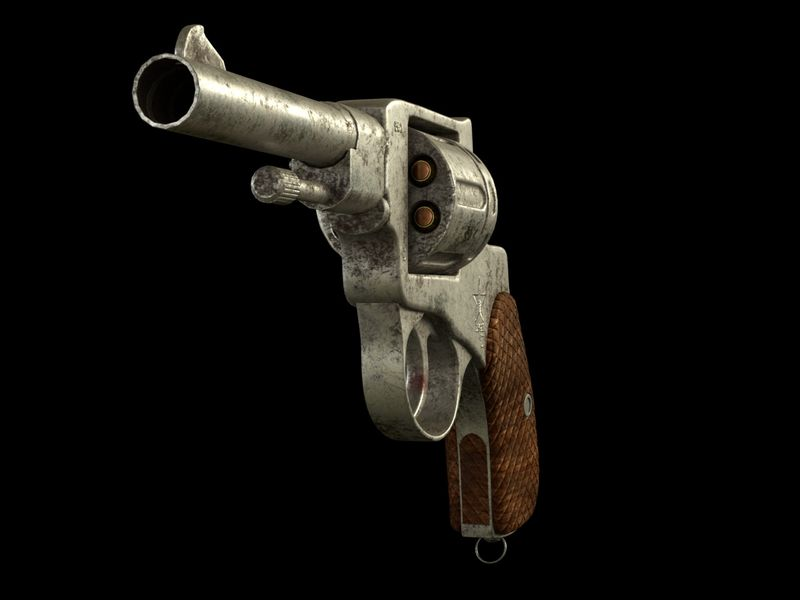 1941 Russian Nagant Revolver