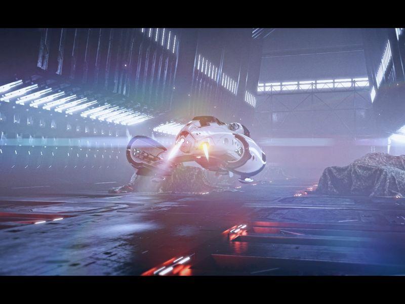 lobster spaceship