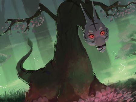 Tree Spirit (Kodama) Design for Yomi: Unbroken