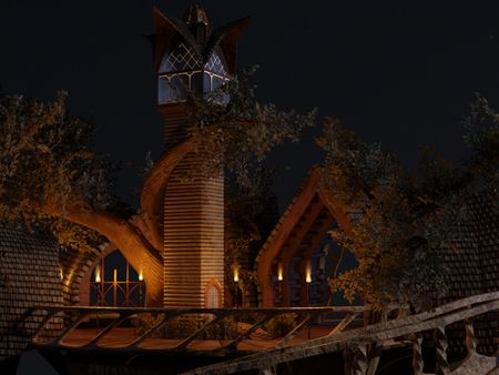 Elven outpost