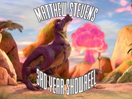 3rd year Showreel - Matthew Stevens
