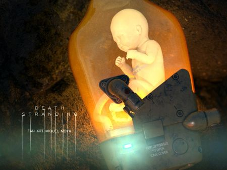 Death stranding BB (Fan art)