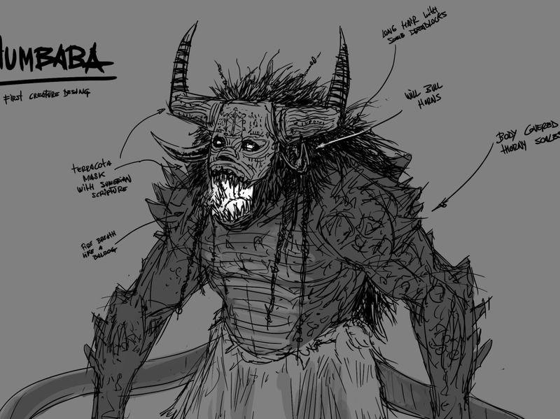 Ancient guardian beast
