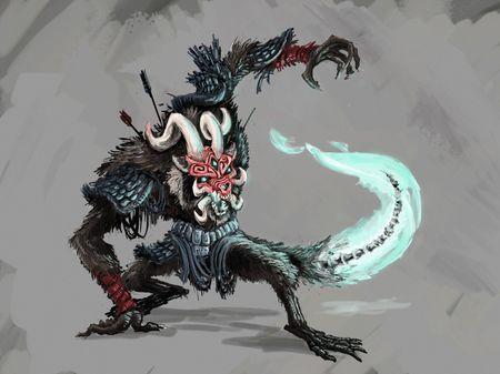 Samurai Racoons