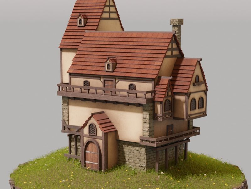 Simple fantasy house