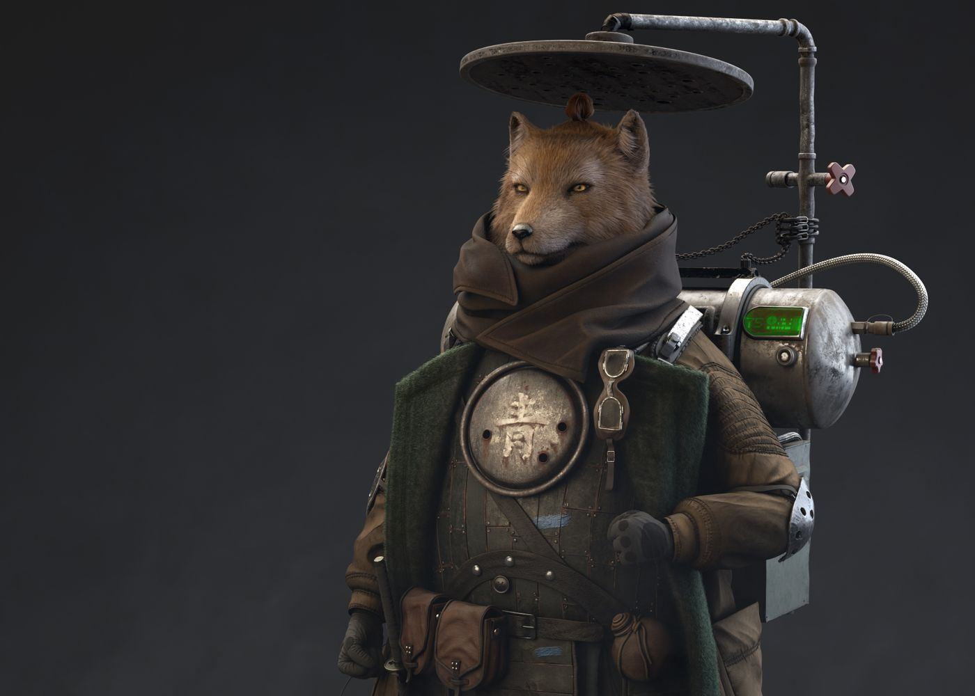 Foxy Warrior: The Life Supplier