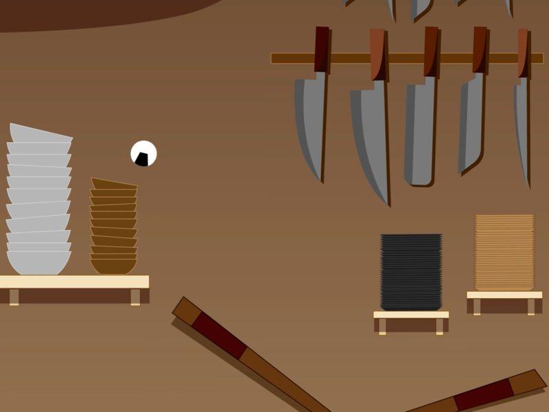 The Rube Goldberg Sushi Machine