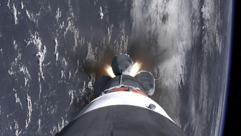 Soyuz First Stage Seperation