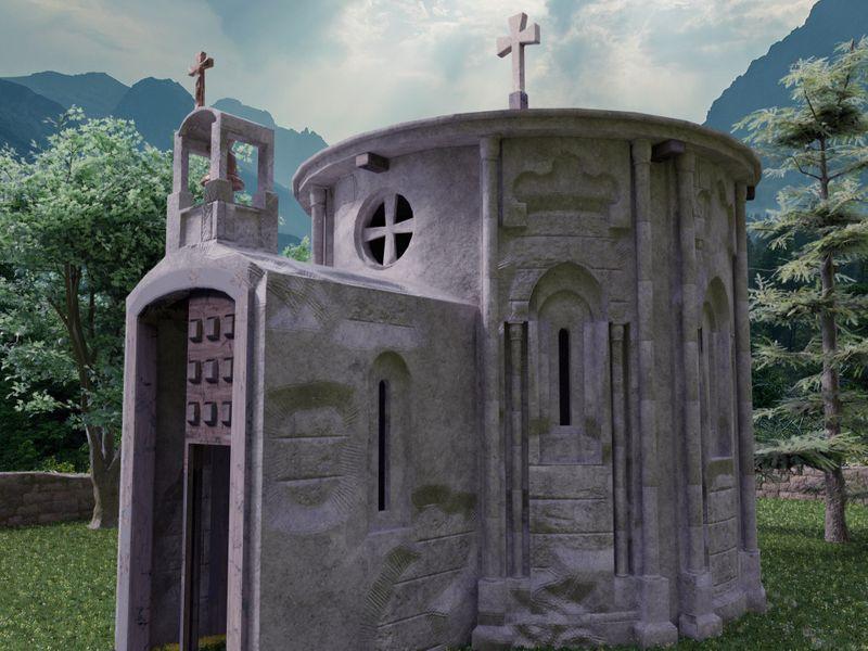Defiled church